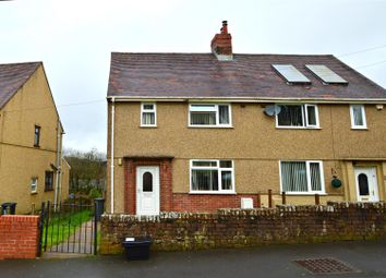 Thumbnail 2 bed semi-detached house for sale in Derwydd Avenue, Gwaun Cae Gurwen, Ammanford
