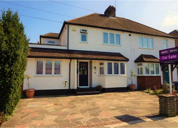 Thumbnail 4 bed semi-detached house for sale in East Way, Bromley