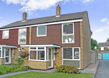 Thumbnail 3 bed semi-detached house for sale in Fairway Close, Copthorne, Crawley, West Sussex