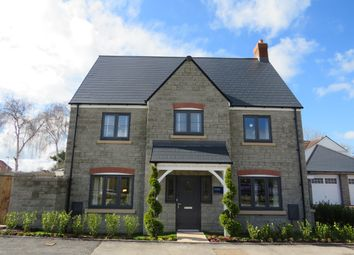 Thumbnail 4 bed detached house for sale in Cowslip Way, Charfield, Wotton-Under-Edge