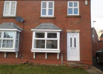 Thumbnail 3 bed semi-detached house to rent in Steppingstone Street, Dudley