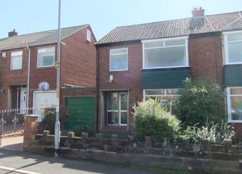 Thumbnail 3 bed semi-detached house to rent in Burnaby Drive, Ryton