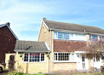 Thumbnail 3 bedroom semi-detached house for sale in Hillview Crescent, Newport