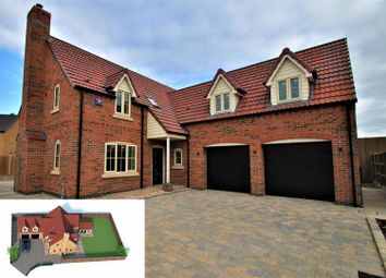 Thumbnail 4 bed detached house for sale in Claymond Court, Frampton Fen, Boston