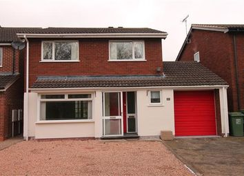 Thumbnail Detached house for sale in Jersey Close, Church Hill, Redditch