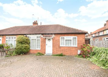 Thumbnail 2 bedroom semi-detached bungalow for sale in Vegal Crescent, Englefield Green, Surrey
