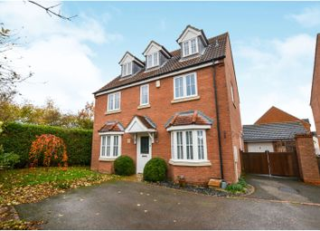 Thumbnail 5 bed detached house for sale in Knole Way, Daventry