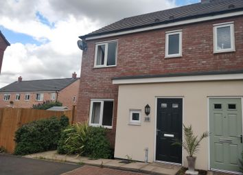 Thumbnail 3 bed end terrace house to rent in Lower Fufin Close, Hawksyard, Rugeley