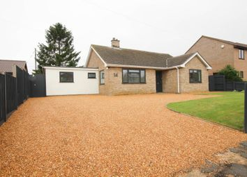 Thumbnail 4 bed detached bungalow for sale in Brook Lane, Stretham, Ely