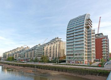 Thumbnail 3 bed flat to rent in Ascensis Tower, Battersea Reach, Juniper Drive, Battersea, London
