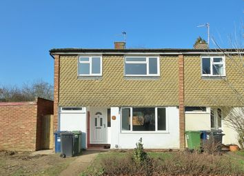 Thumbnail 3 bedroom end terrace house to rent in Lexington Close, Cambridge
