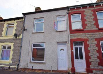 Thumbnail 3 bedroom terraced house for sale in Bassett Street, Barry