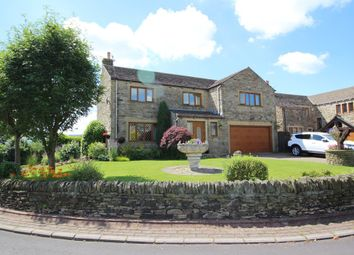 Thumbnail 4 bed detached house for sale in Spring Gardens, Upperthong, Holmfirth