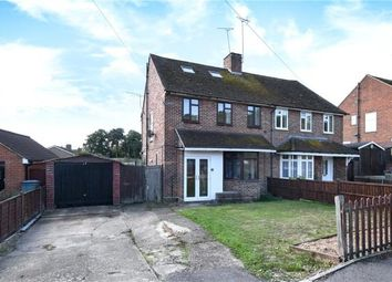 Thumbnail 3 bed semi-detached house for sale in Lower Broadmoor Road, Crowthorne, Berkshire