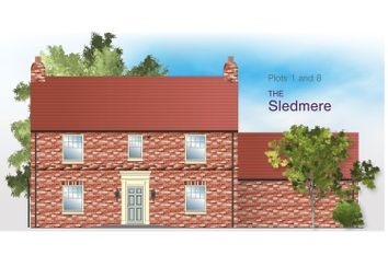 Thumbnail 4 bedroom detached house for sale in Woldgate Pastures, East End, Kilham