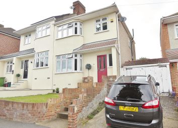 Thumbnail 3 bed semi-detached house for sale in Edwin Close, Bexleyheath, Kent