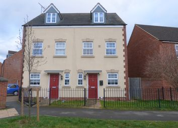 Thumbnail 3 bed semi-detached house for sale in Valley Gardens, Kingsway, Gloucester