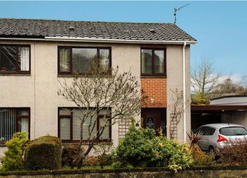 Thumbnail 2 bed semi-detached house for sale in Strathmore Avenue, Dunblane, Dunblane