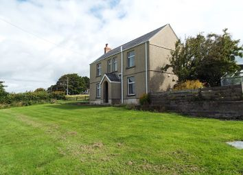 Thumbnail 3 bed detached house for sale in Bryn Farmhouse, Penuel, Llanmorlais, Gower