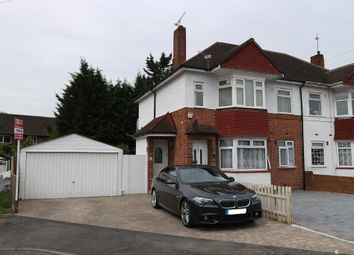 Thumbnail 2 bed flat for sale in Barnard Gardens, Hayes