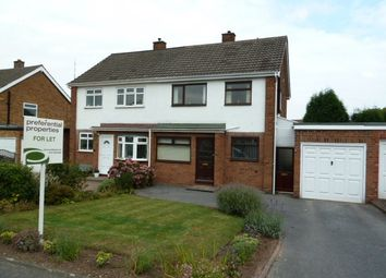 Thumbnail 2 bed semi-detached house to rent in Kittoe Road, Four Oaks, Sutton Coldfield