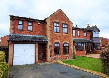Thumbnail 4 bed detached house for sale in Verdon Close, Stafford