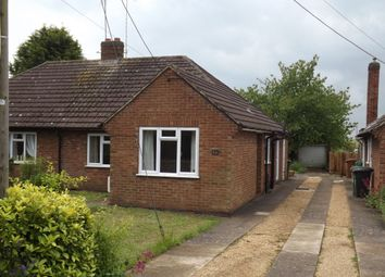 Thumbnail Semi-detached bungalow to rent in Wollaston Road, Irchester, Northamptonshire
