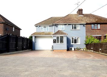 Thumbnail 4 bedroom semi-detached house for sale in Hall Lane, Sandon, Chelmsford