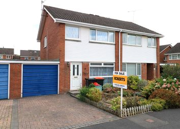 Thumbnail 3 bed semi-detached house for sale in Redwood Close, Caerleon, Newport