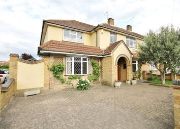 Thumbnail 5 bed semi-detached house for sale in Vicarage Road, Sunbury-On-Thames, Surrey