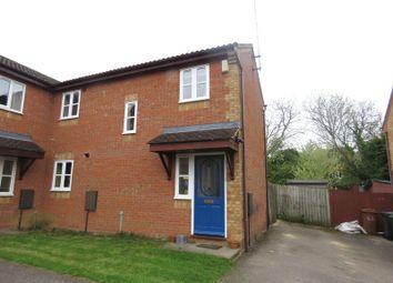 Thumbnail 2 bedroom semi-detached house for sale in Elizabeth Close, Wellingborough
