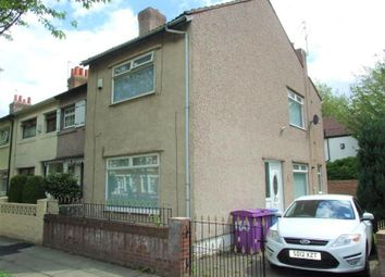 Thumbnail 3 bed end terrace house for sale in Ince Avenue, Liverpool
