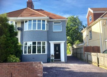 Thumbnail 3 bedroom semi-detached house for sale in Harlech Crescent, Swansea