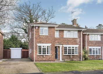 Thumbnail 4 bed detached house for sale in Tattersall Close, Wokingham, Berkshire