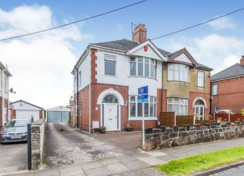 Thumbnail 3 bed semi-detached house to rent in Chell Green Avenue, Stoke-On-Trent