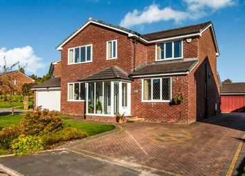 Thumbnail 4 bed detached house for sale in Clough Meadow, Bolton, Greater Manchester