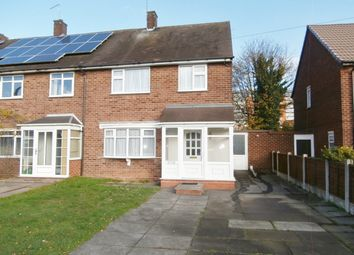 Thumbnail 3 bed end terrace house to rent in Hamstead Road, Great Barr, Birmingham