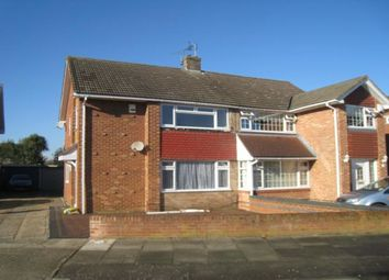 Thumbnail 3 bed semi-detached house to rent in Frobisher Way, Gravesend