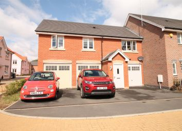 Thumbnail 2 bed flat for sale in Buckfast Close, Daventry