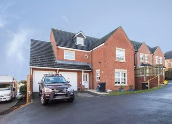 Thumbnail 5 bed detached house for sale in Diwedd Camlas, Rogerstone, Newport