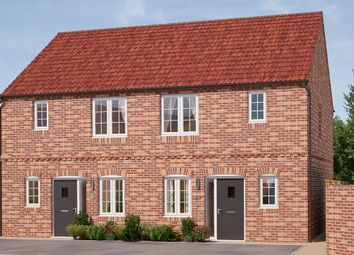 "Thumbnail 3 bed semi-detached house for sale in ""The Hamilton"" at Bowbridge Lane, New Balderton, Newark"