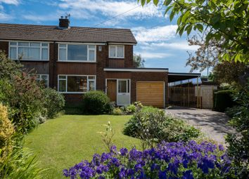Thumbnail 3 bed semi-detached house for sale in Arnside Avenue, Hazel Grove, Stockport