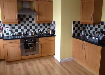Thumbnail 1 bed flat to rent in Fosse Road South, Westend, Leicester