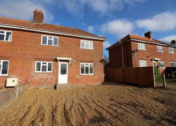 Thumbnail 3 bedroom semi-detached house for sale in Hemblington Hall Road, Hemblington, Norwich