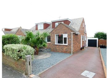 Thumbnail 4 bed semi-detached house for sale in Firle Road, Peacehaven