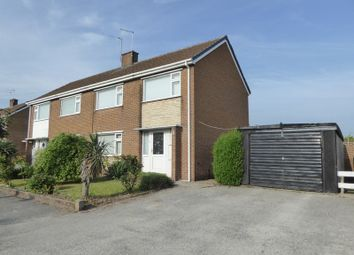 Thumbnail 3 bed semi-detached house to rent in Thompson Avenue, Harworth, Doncaster
