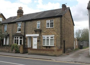 Thumbnail 3 bed end terrace house to rent in Station Road, Addlestone, Surrey