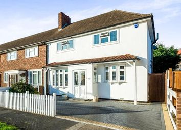 Thumbnail 3 bedroom end terrace house for sale in Lynton Avenue, Romford