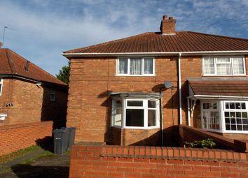 Thumbnail 3 bed semi-detached house to rent in Debenham Road, Yardley, Birmingham