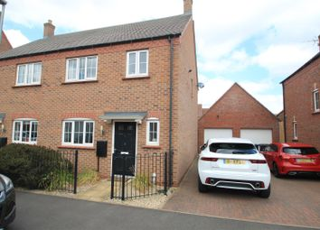 Thumbnail Semi-detached house to rent in Greyhound Croft, Hinckley